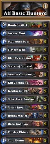 hearthstone-all-basic-hunter