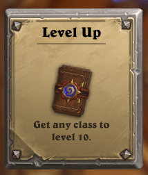 All should be at least Lvl 10