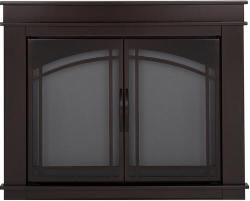 Fireplace Doors Menards Pleasant Hearth Grantham Large