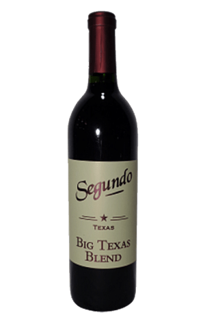 Segundo Texas Big TX blend - Dry Red Wine