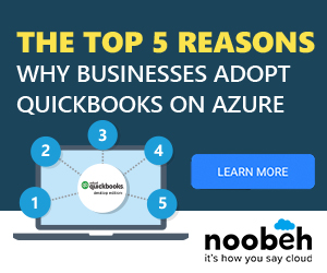 Top 5 Reasons for QuickBooks on Azure