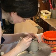 Art Therapy Creating with Clay