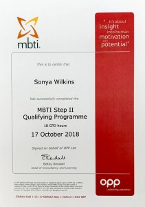 MBTI Step II Sonya Wilkins
