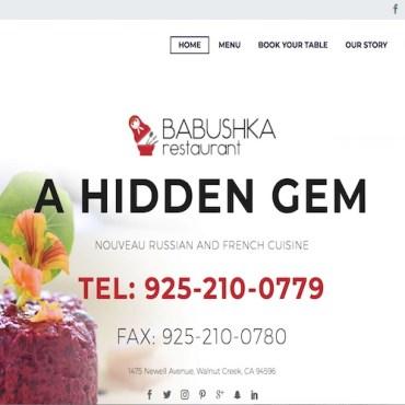 Image: Babushka Restaurant website