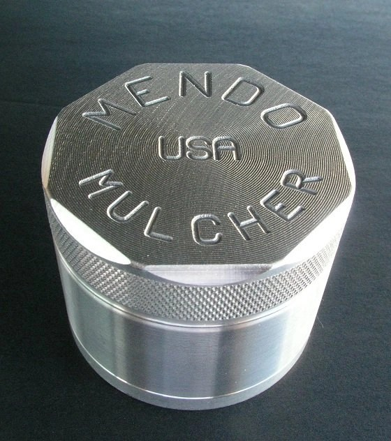 "Mendo Mulcher 2.25"" (inch) 4-Piece Screened Grinder"