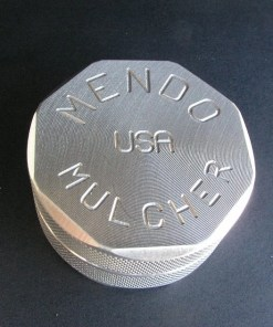 """Mendo Mulcher 2.25"""" (inch) 2-Piece Screenless Grinder"""