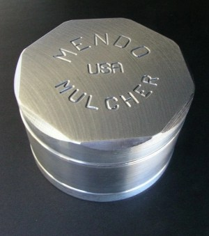 "Mendo Mulcher 3"" (inch) 4-Piece Screened Grinder"
