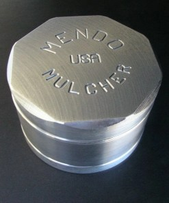"Mendo Mulcher 3"" (inch) 4-Piece Screened Herb Grinder"