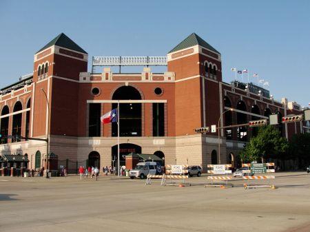Texas Rangers Stadion Arlington