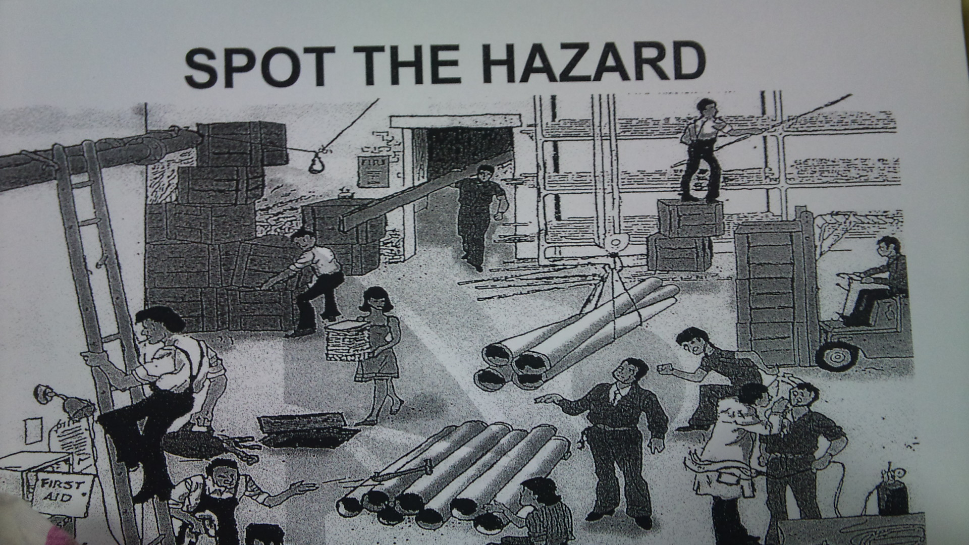 Find The Workplace Hazards Worksheet