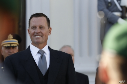 FILE - U.S. Ambassador Richard Grenell is pictured in Berlin, Germany, May 8, 2018.