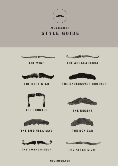 movember-style guide