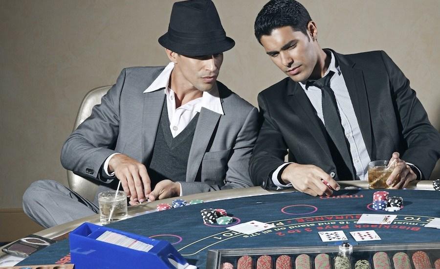 Casino Outfit für Herren.