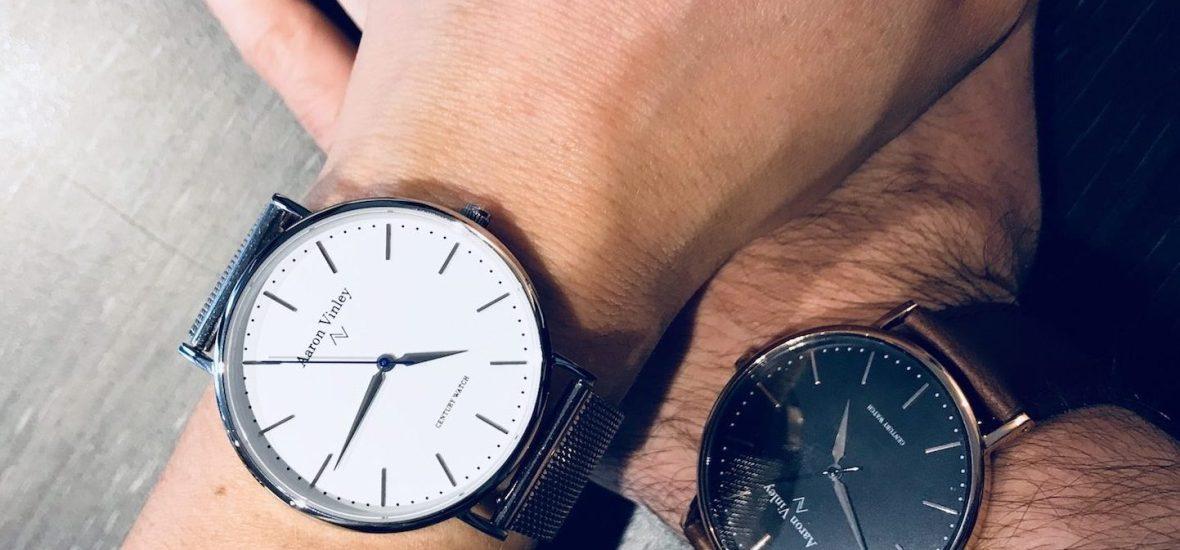 Die neuen Aaron Vinley Uhren für Damen und Herren.