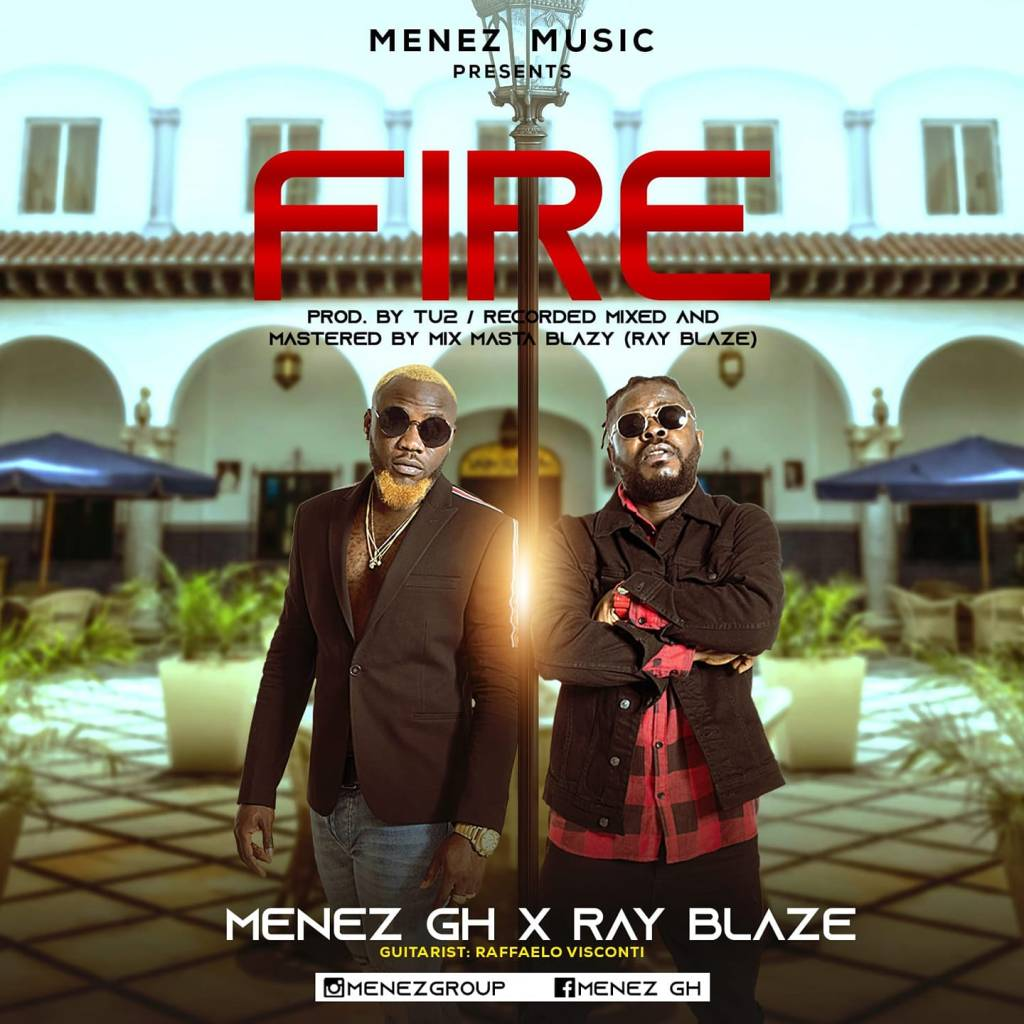 cover of the song Fire by Menez Gh