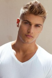 beautiful men blonde hairstyles