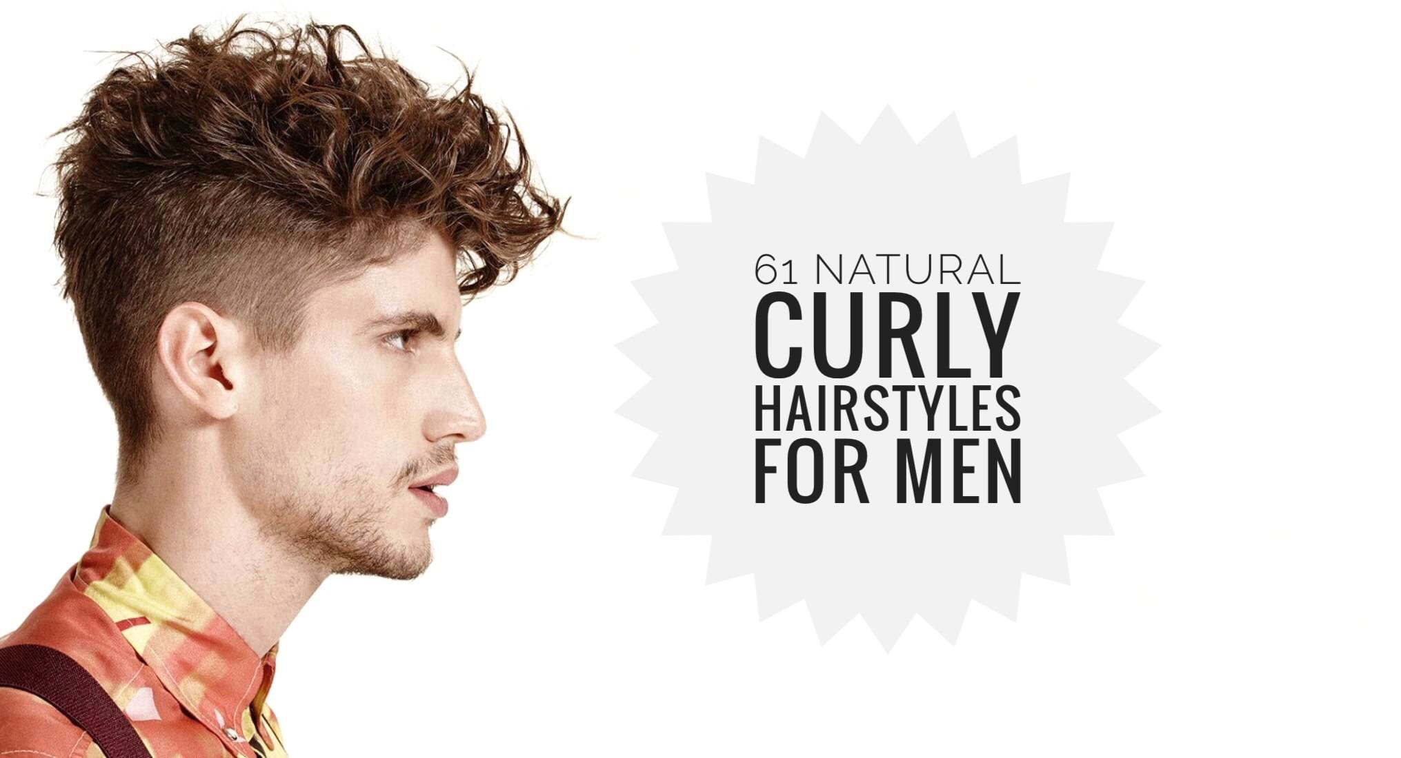 60 Curly Hairstyles For Men To Style Those Curls Men Hairstyles