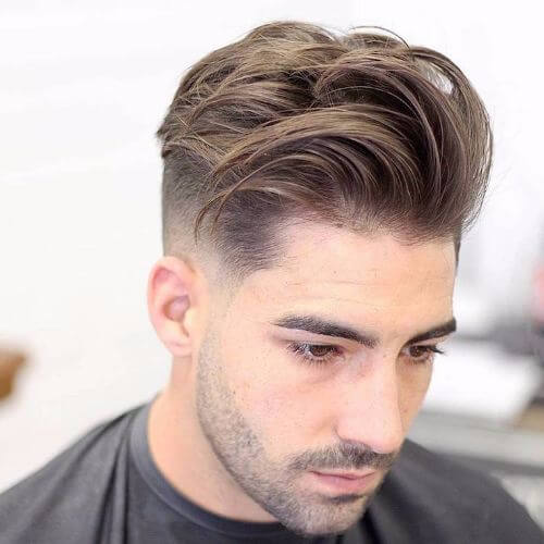 Image Result For Mens Haircut Short Sides Long Top