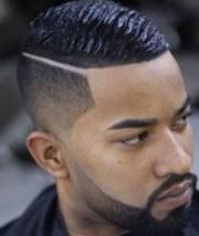 black men hairstyles nail