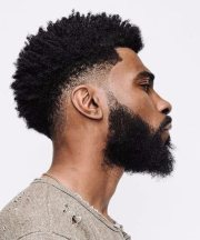 undercut black men