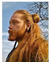 cool and rugged viking hairstyles