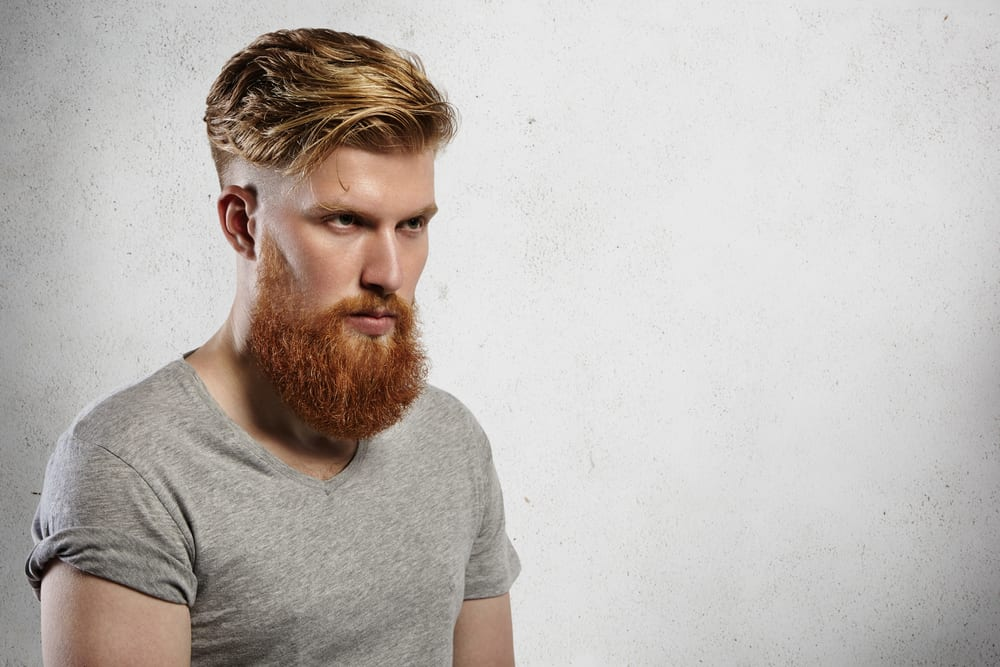 50 Trendy Undercut With Beard Styles