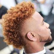 curly hairstyles black men