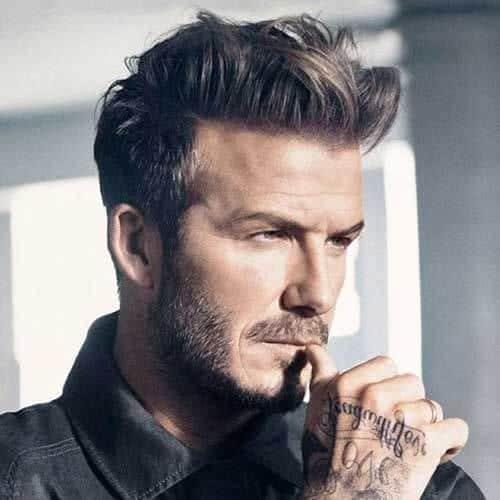 30 Messy Hairstyles For Men David Beckham Hairstyles Ideas Walk