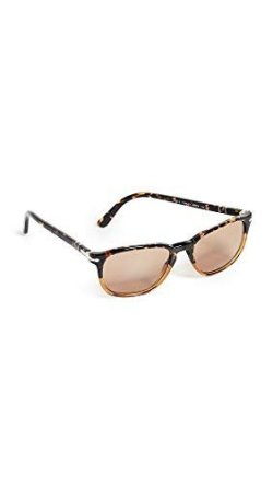 Persol Men's Gradient Tortoise Sunglasses
