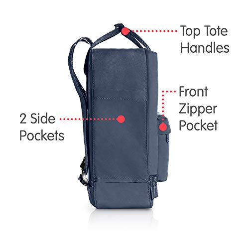 Fjallraven, Kanken Classic Backpack for Everyday, Graphite