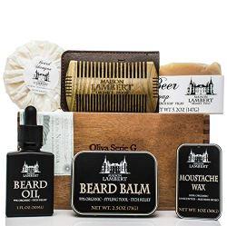 Maison Lambert Ultimate Beard Kit in Cigar Box