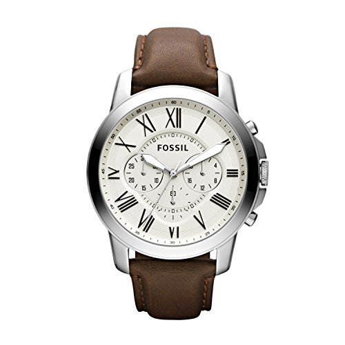 Fossil Men's Grant Quartz Stainless Steel Dress Watch