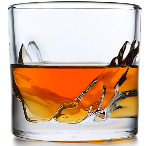 Liiton Mountain Whiskey Glass Set of 4