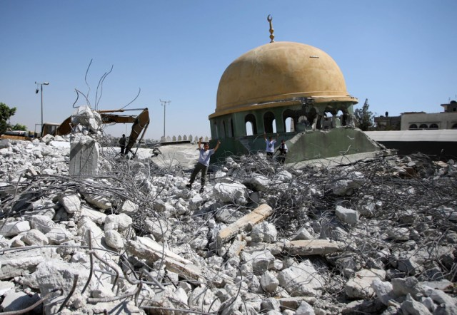 Džamija u Gazzi uništena od strane izraelske vojske