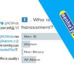 NCW removed the Poll over Violence on men and women