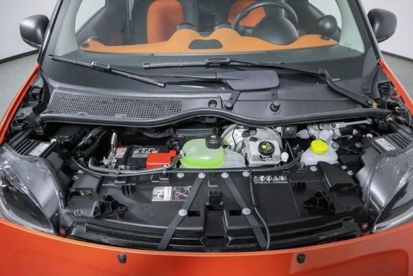 2017 Smart Fortwo Orange