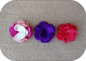 Flor de feltro 4