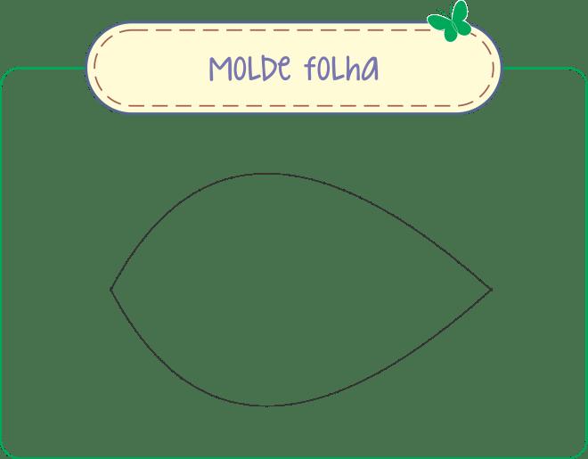Molde folha