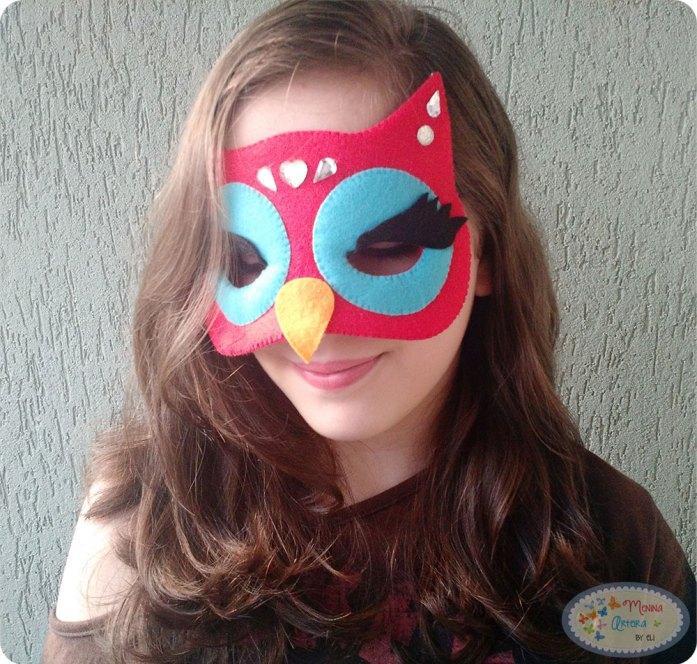 Máscara-Coruja