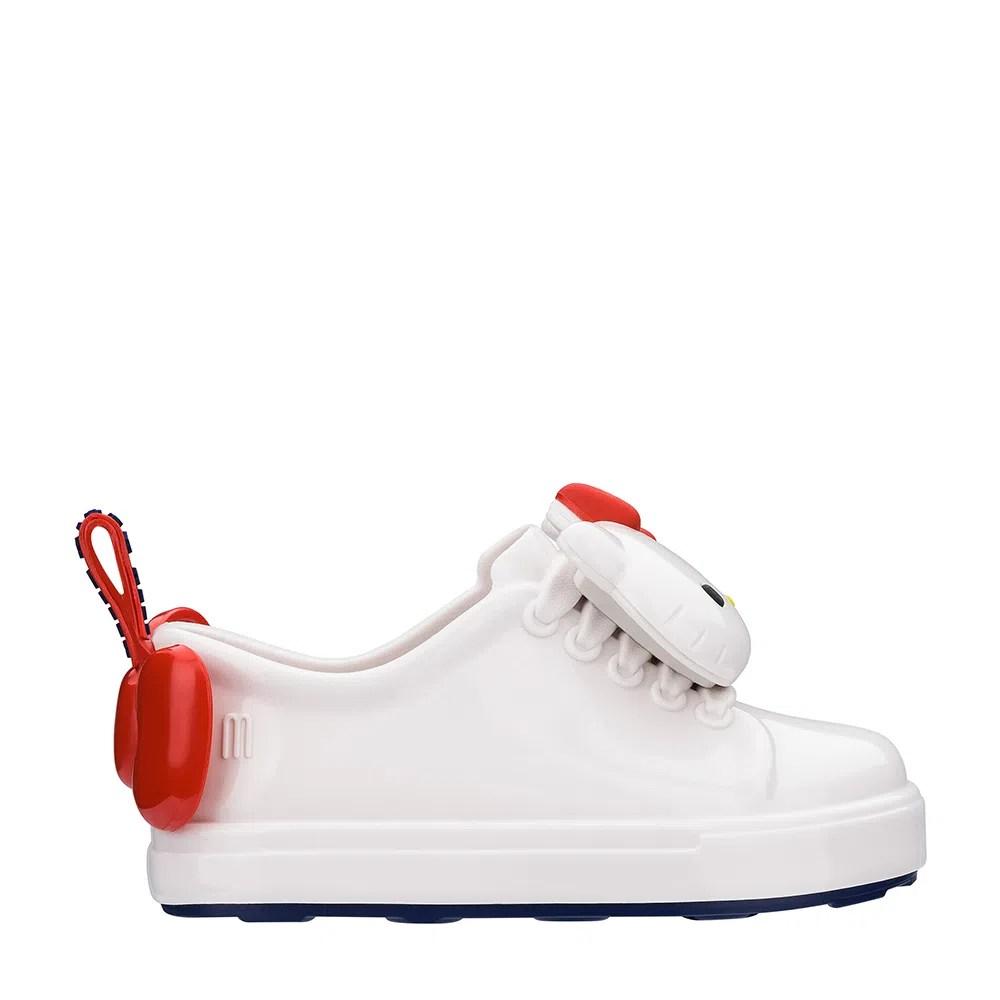 Mini Melissa Be + Hello Kitty Branco Vermelho Azul| Melissa - Menina Shoes