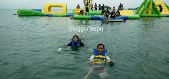 Sensasi Menegangkan di Wahana Floating Water Park Sea Forest Adventure Batam