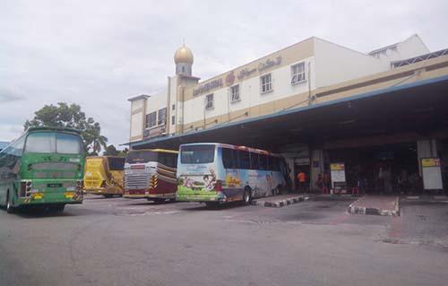 Terminal Larkin, Johor Baharu.