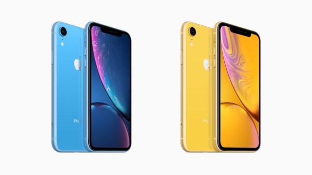 iPhone XR 全部 6 種顏色,將稍後在 iPhone XS/XS Max 於 10 月 19 日開始接受預訂