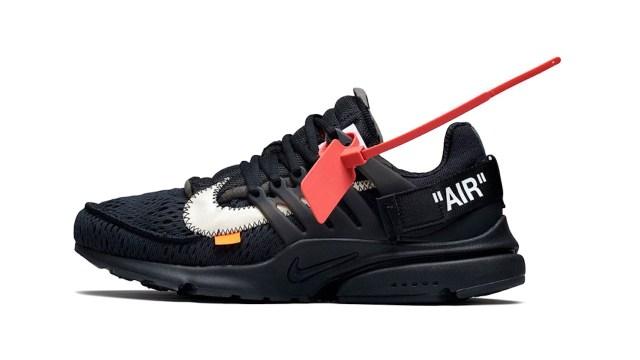 Nike Air Presto Off-White (Black) /炒價約 HKD5,200 至 HKD7,200