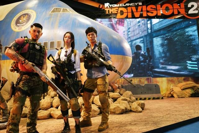 今年TpGS的Ubisoft展區,重中之重當然是將於3月15日發售的《The Division 2》(湯姆克蘭西:全境封鎖2)!