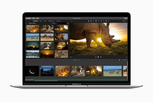 MacBook Air 2020版本已經登場,定價 HKD7,799 起,太空灰、金色、銀色三色選擇,最快3月30日到貨,按此可到官網預購。