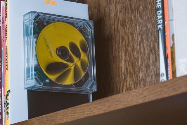 靈感來自經典 CD 盒,既實用亦可作為家居小擺設。