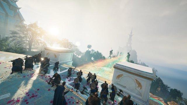 阿斯嘉支線非常吸引,一開始便是彩虹橋大戰,並與神話角色並肩作戰。