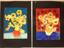 Vincent's Sunflowers Grade 3
