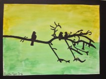 Bird & Branch Silhouette Grade 2